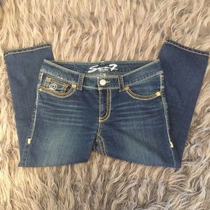 Seven7 Cropped Jeans